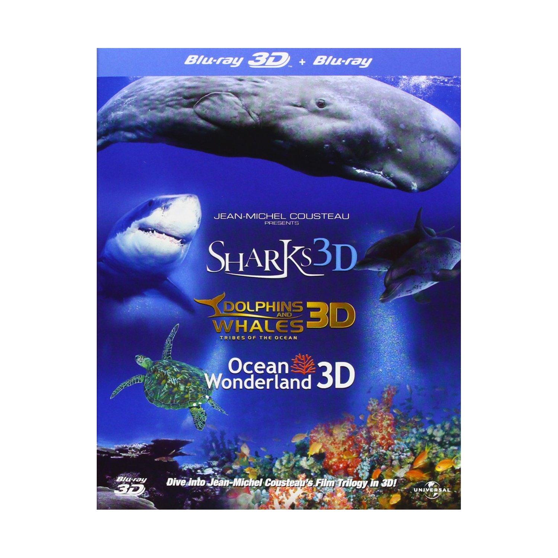 Trilogía Jean-Michel Cousteau 3D